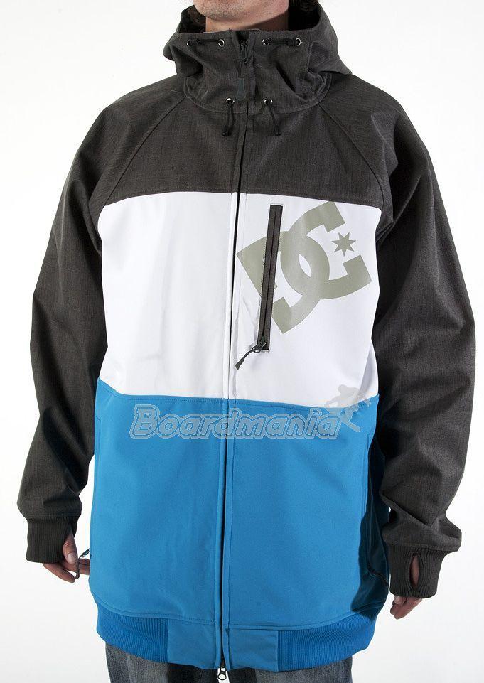 d6a8602153 Pánská bunda DC Abram blue shadow Snowboard e-shop