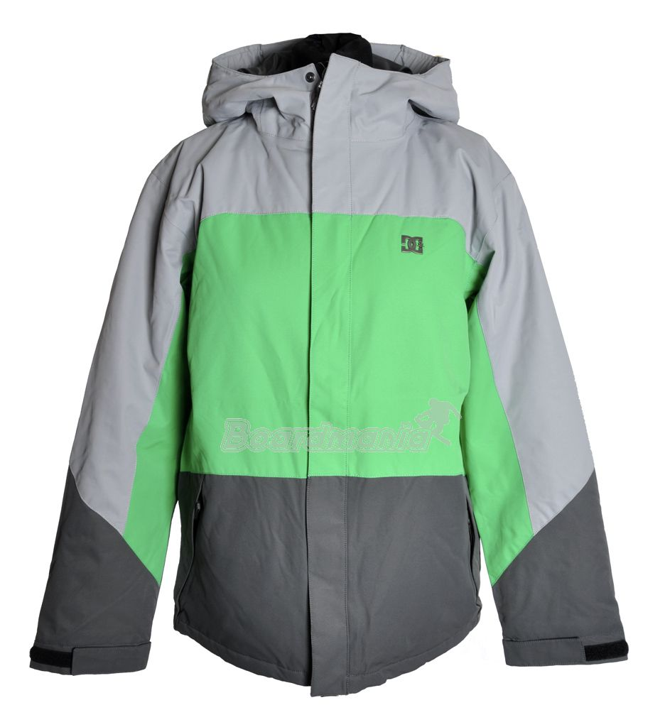 8401e0c160 Dětská bunda DC Amo K 13 galvanized emerald Snowboard e-shop
