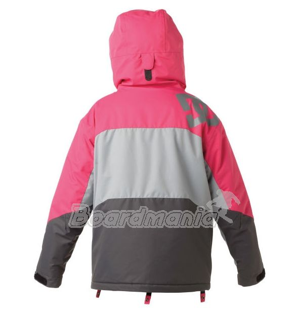 224c8e9af8 Dámská bunda DC Farah K pink galvanized shadow Snowboard e-shop