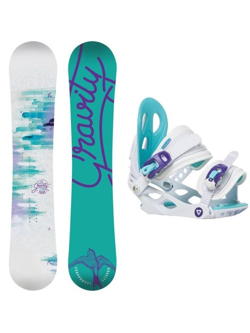 Snowboard set outlet