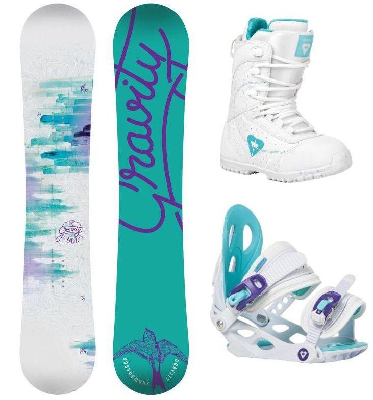 d349c2b39a Snowboard komplet Gravity Fairy 16 17 Snowboard e-shop