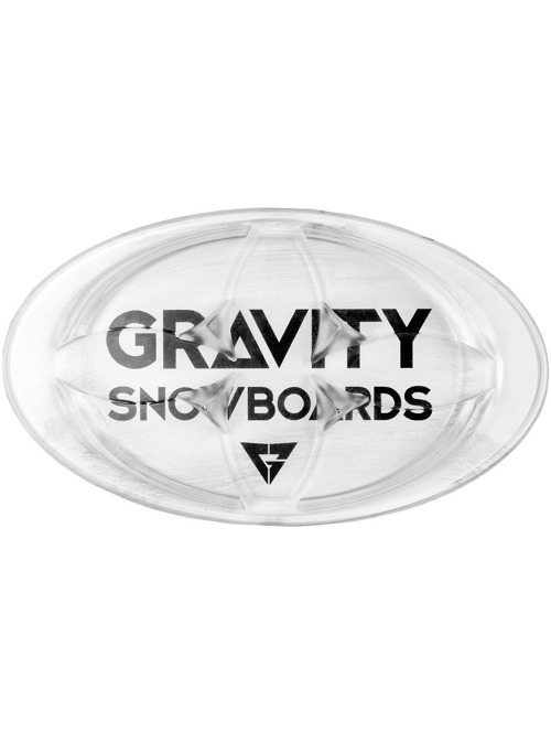Grip Gravity Logo mat clear