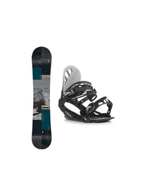Snowboard set Gravity Adventure 18/19