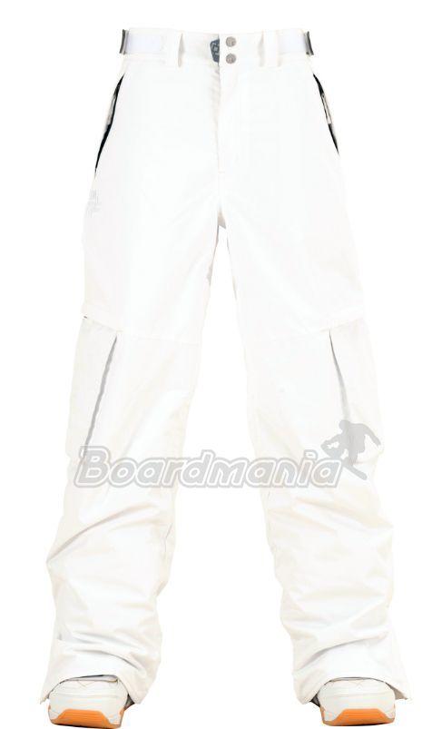 33b3a1face98 Dámské snowboardové kalhoty Horsefeathers Deneb white Snowboard e-shop
