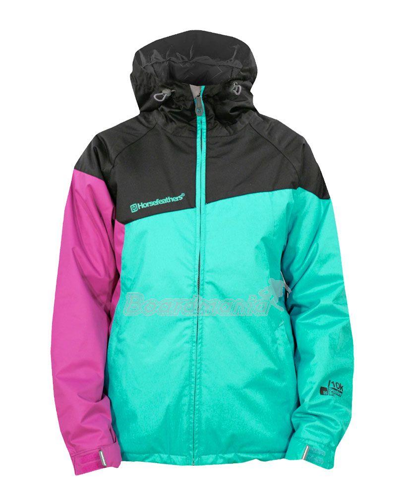 10da46aa8 ... na snowboard » Bundy dámské · Dámská bunda Horsefeathers Pleione mint