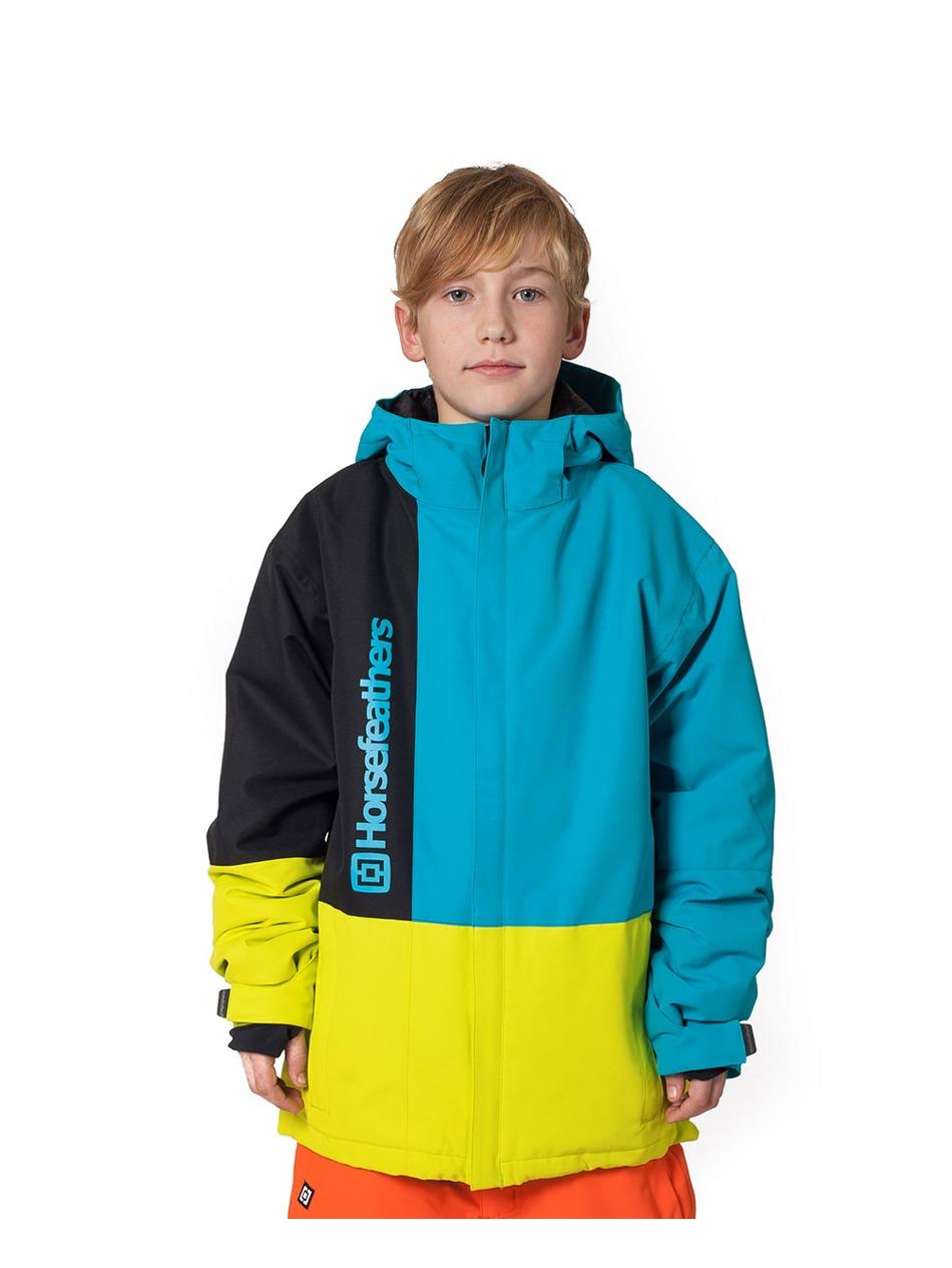 8ebee05bf Dětská bunda Horsefeathers Taylor kids blue Snowboard e-shop