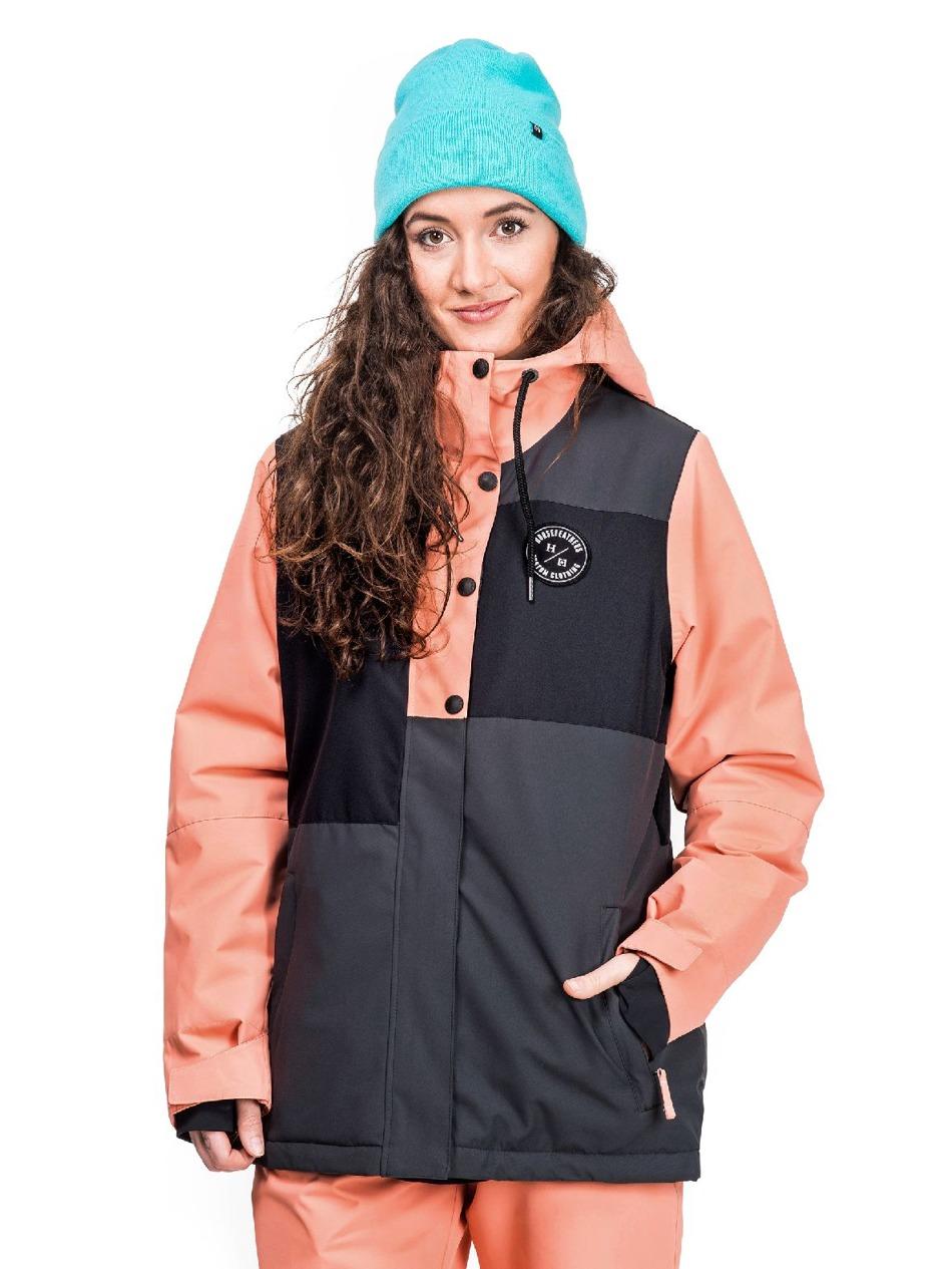 6a03c5979067 Dámská bunda Horsefeathers Nela old rose Snowboard e-shop
