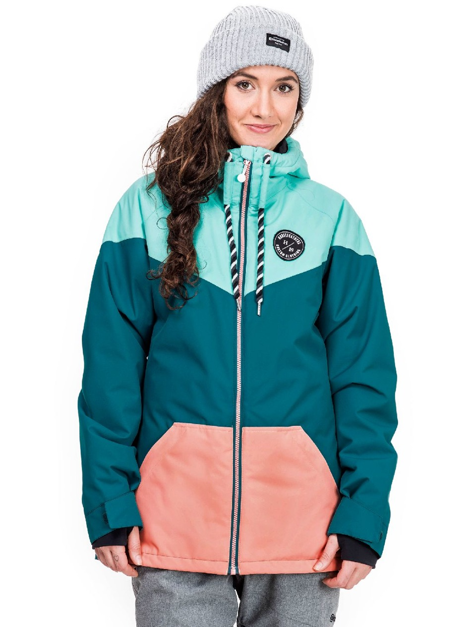 6db635189 Dámská bunda Horsefeathers Fay pool blue Snowboard e-shop