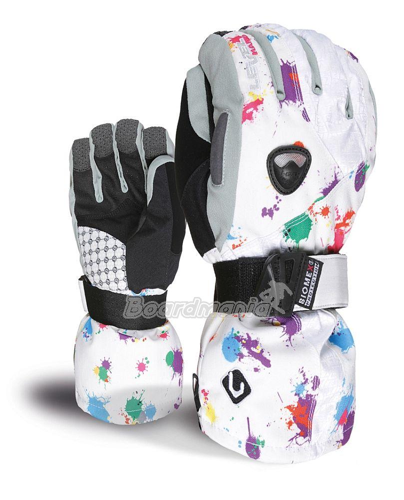 bb0b9ba0b6 Dámské rukavice Level Butterfly PK rainbow Snowboard e-shop