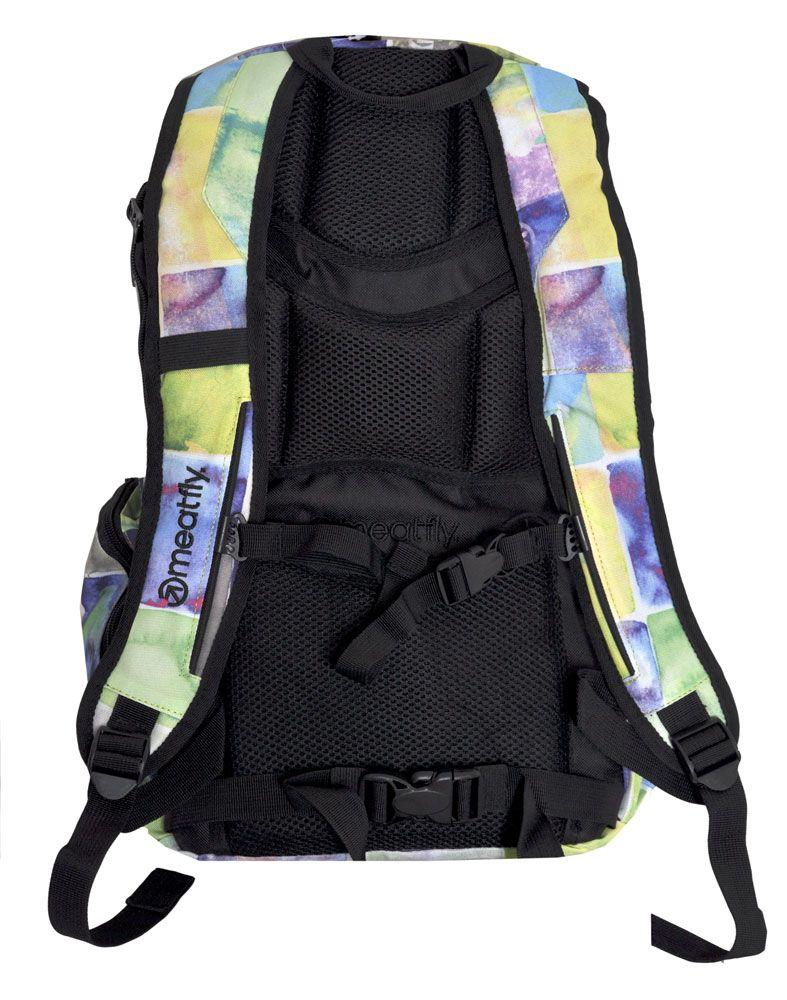 a148c9170e5 Batoh Meatfly Basejumper watter checks yellow 20l Snowboard e-shop