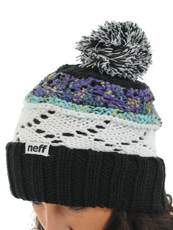 Dámský kulich Neff Whim gray  white Snowboard e-shop 1aa5c39c80
