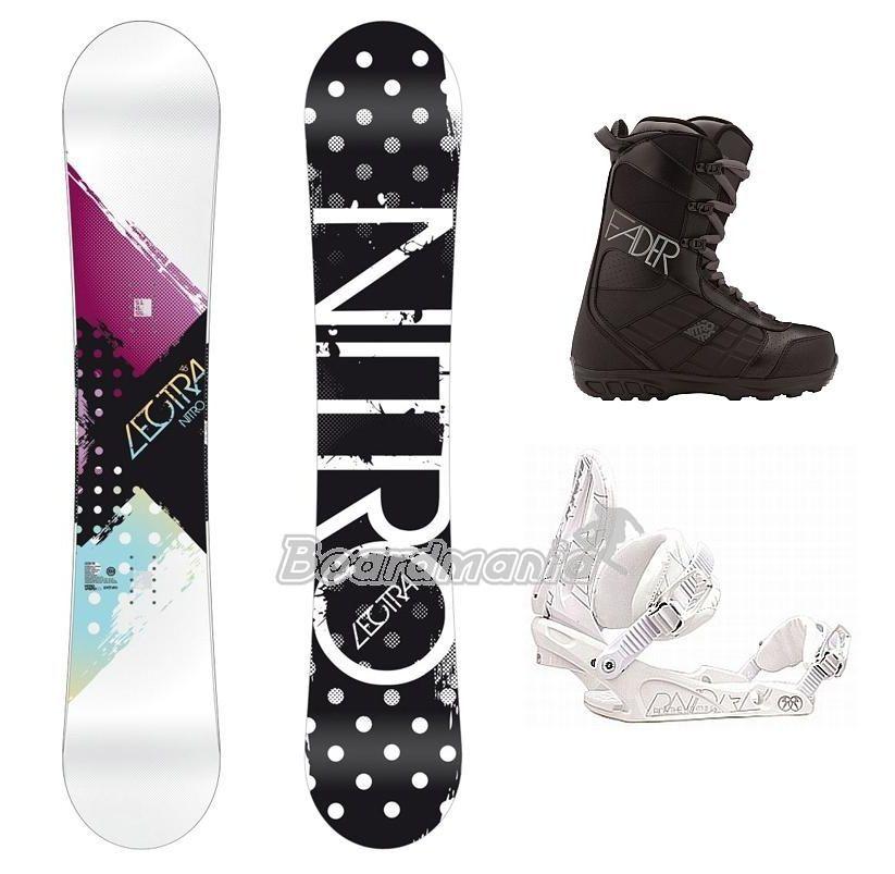45085ea89 Dámský snowboard komplet Lectra Snowboard e-shop