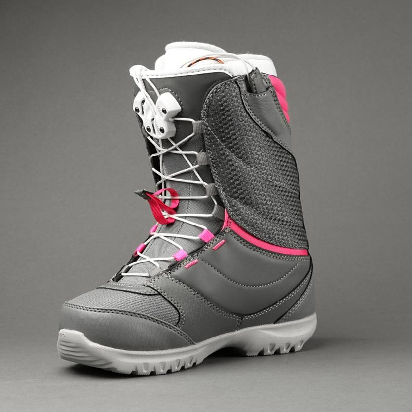 Dámské boty Nitro Cuda TLS grey rodamine Snowboard e-shop 959f42fc26