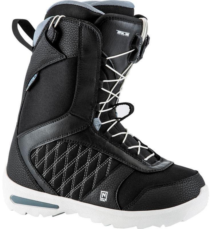 Boty Nitro Flora Tls black Snowboard e-shop d28b992714